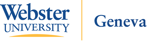Webster University Geneva Logo